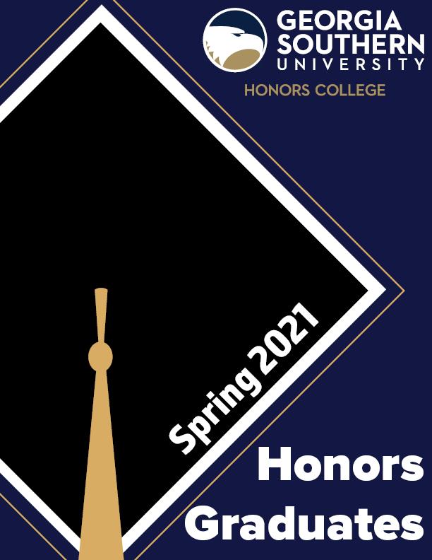 Spring 2021 Honors Graduates Booklet